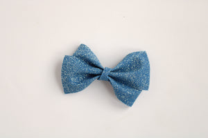 Fairy Dust Navy Alison Bow