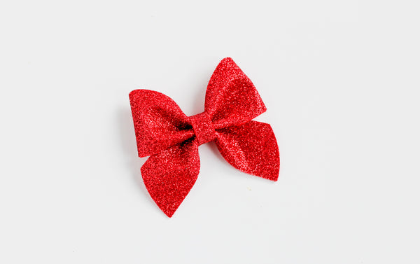 Red Midi Emmy Bow