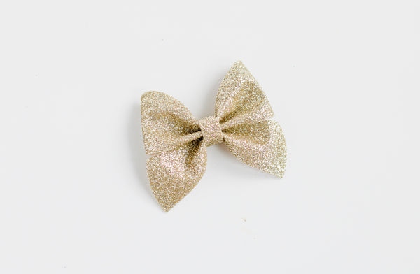 Gold Midi Emmy Bow
