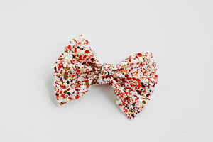 Holiday Glitter Everleigh Bow