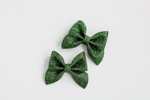 Green Mini Emmy Pigtail Set