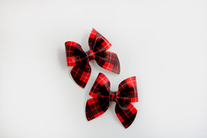 Mountain Plaid Emmy Mini Pigtail
