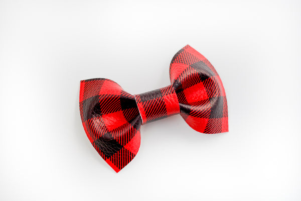 Buffalo Plaid Benson Bowtie