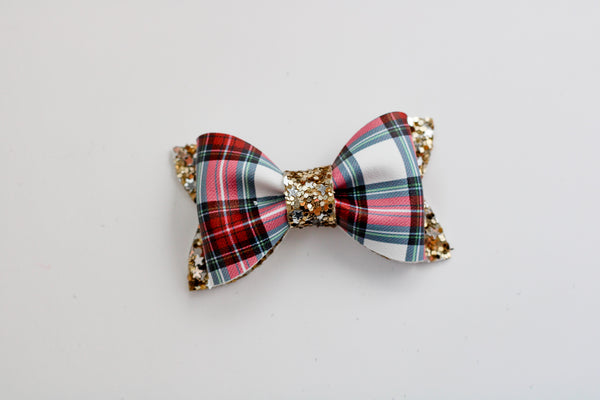 Traditional Plaid Adeline Bow
