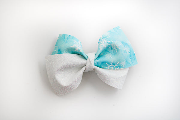 Frozen + White Alison Bow