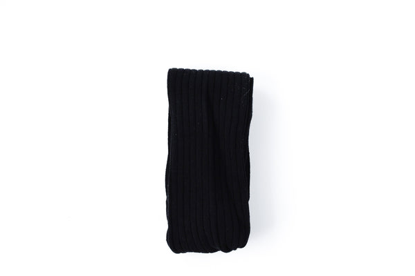 Rib Knit Leggings // Black