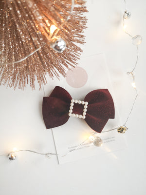 Pearl Buckle Alison Bow