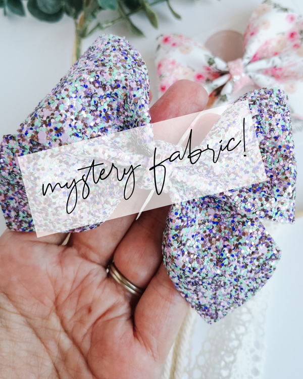 Bow of the Month - Mystery Fabric!