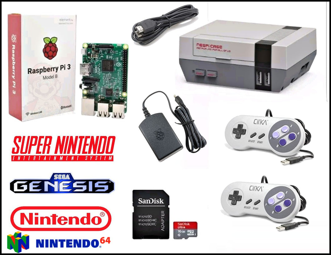 Ultimate Retro Gaming Kit (NES) *Limited Supply*