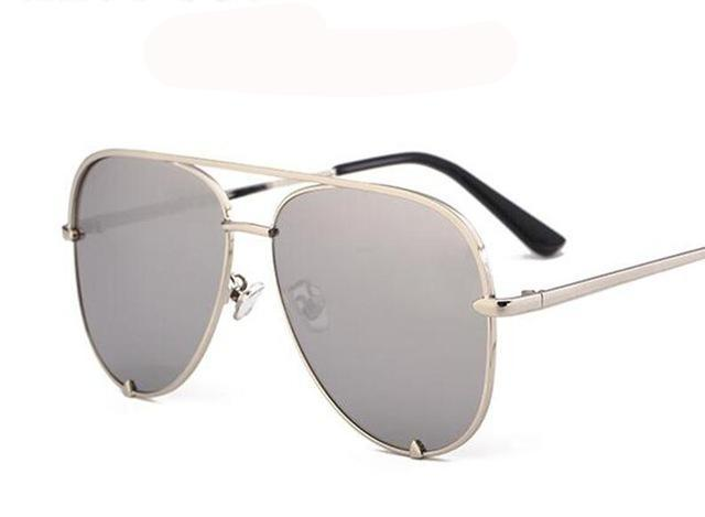 Flat Top Aviator Sunglasses
