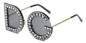 Inspired Crystal Sunglasses