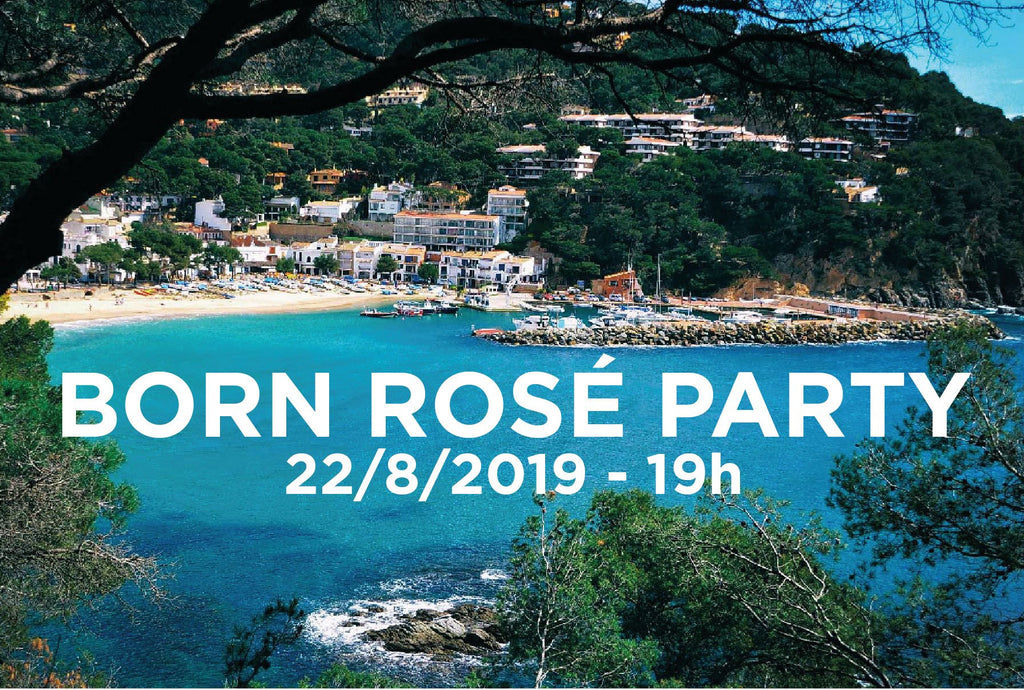 BORN ROSÉ PARTY en La Caleta de Llafranc