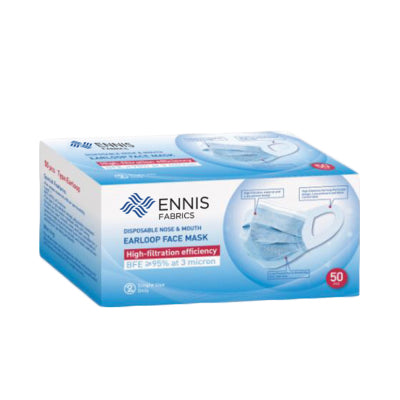 Disposable Utility Face Mask by Ennis Fabrics
