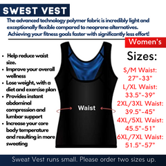 Sculpting Sweat Vest (Women)