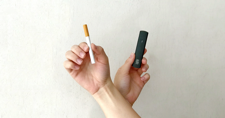 Differences between conventional and electronic cigarettes