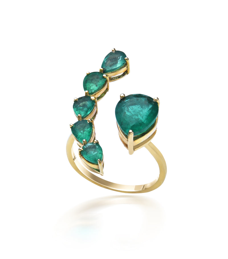 Green Envy Ring