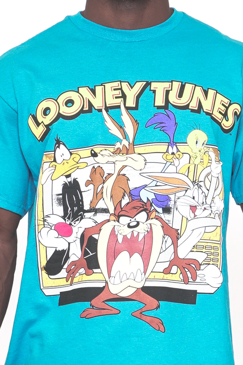 Aao Fashion Men Graphic Tee Looney Tunes Group