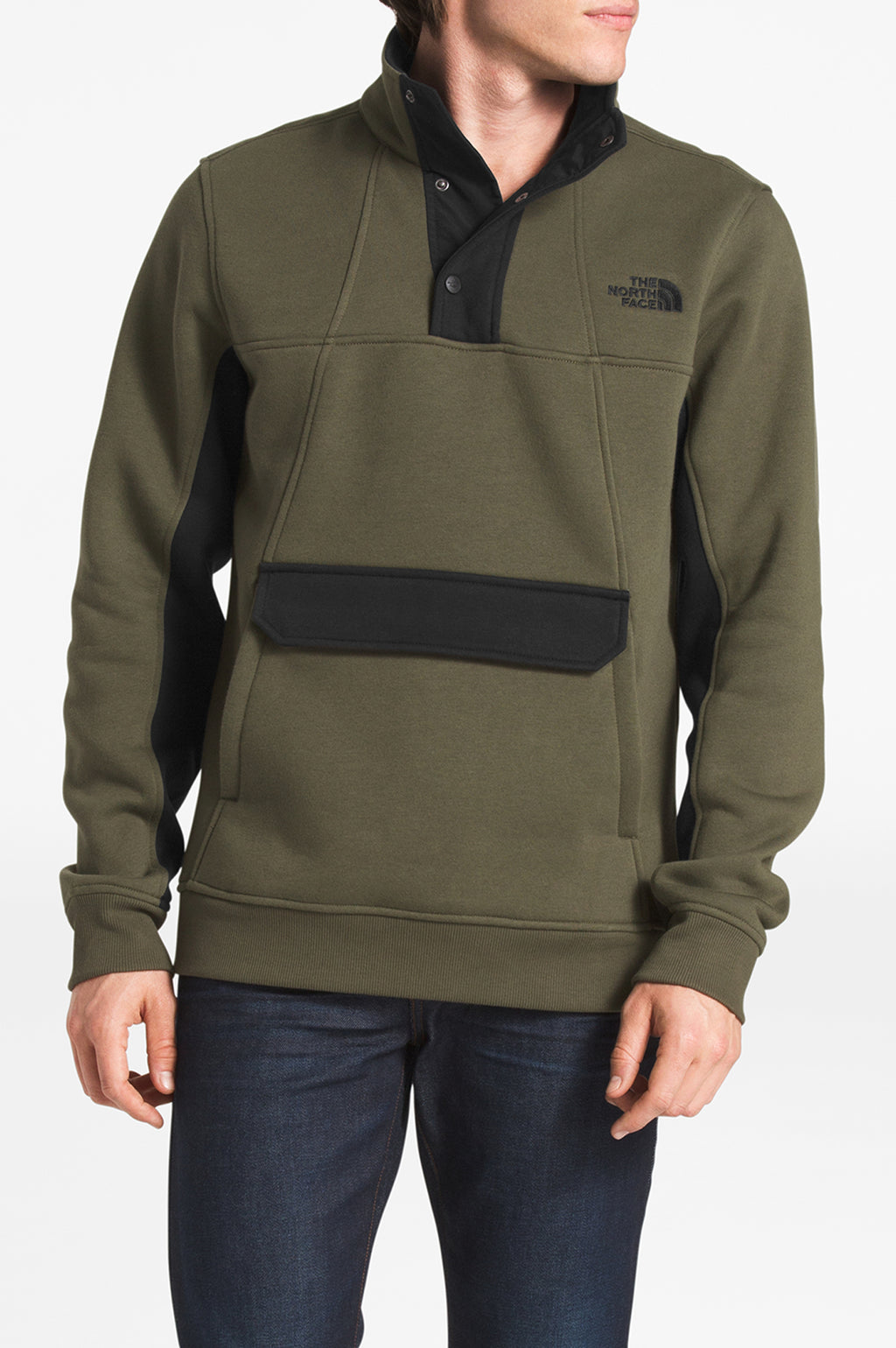 THE NORTH FACE MENS ALPHABET CITY FLEECE PULLOVER