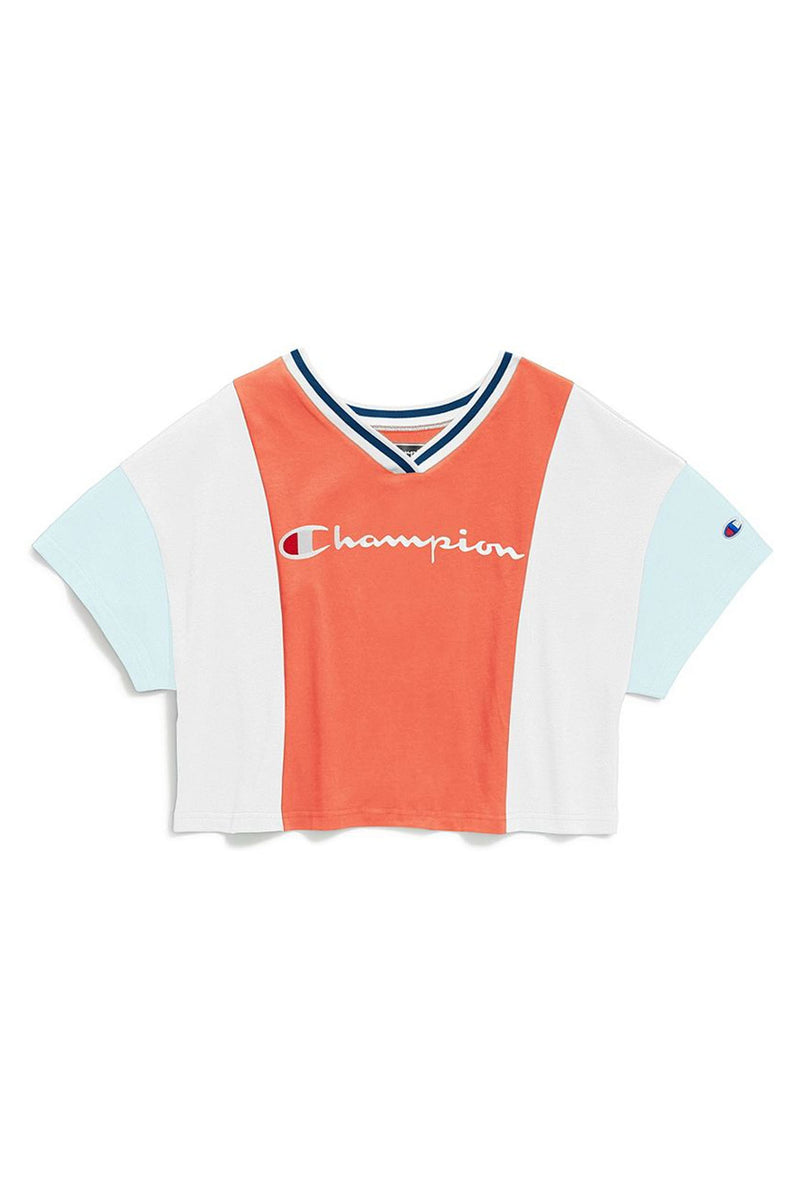 Champion Women Colorblock S/S Tee