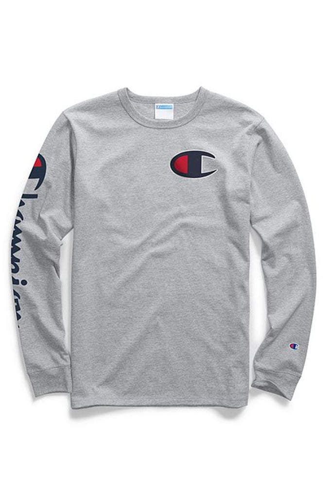 Champion Men Heritage L/S Tee