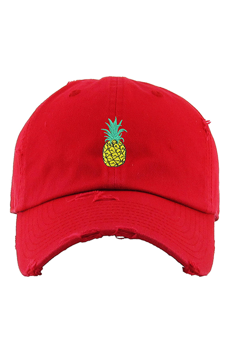 Aao Fashion Acc Dad Hat Pineapple
