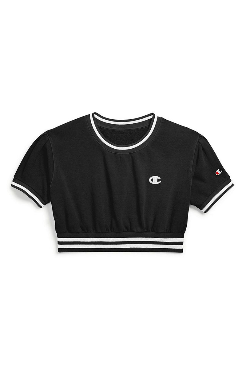 Champion Women Vintage Eye Fleece Cropped Crew