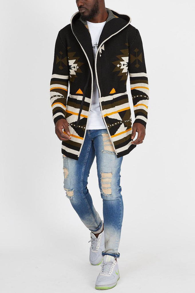 Aao Fashion Men Heavy Outer Cardigan Sweater
