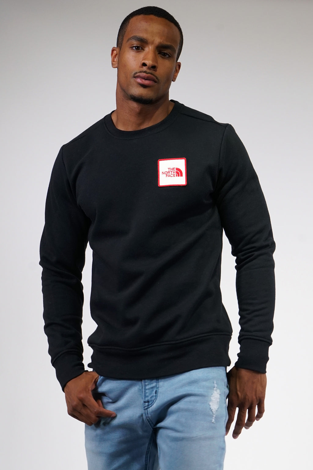 The North Face Mens Novelty Box Crew Neck Fleece