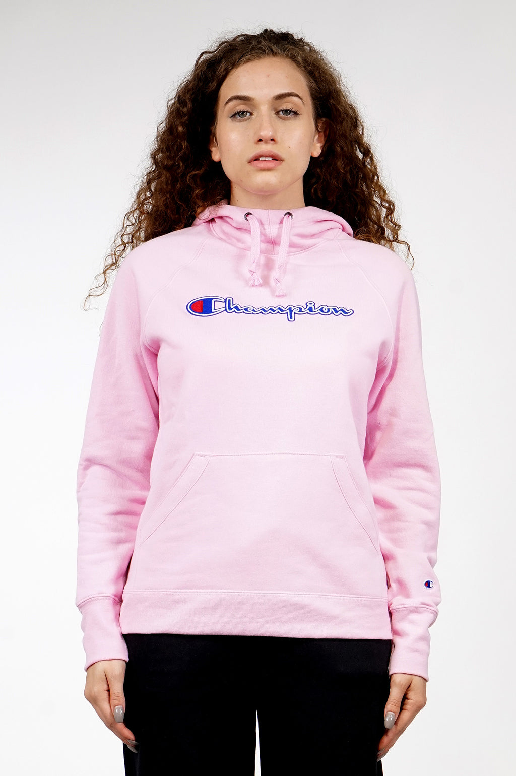 Champion Womens Powerblend Fleece Pullover Hoodie 02f842e2fe