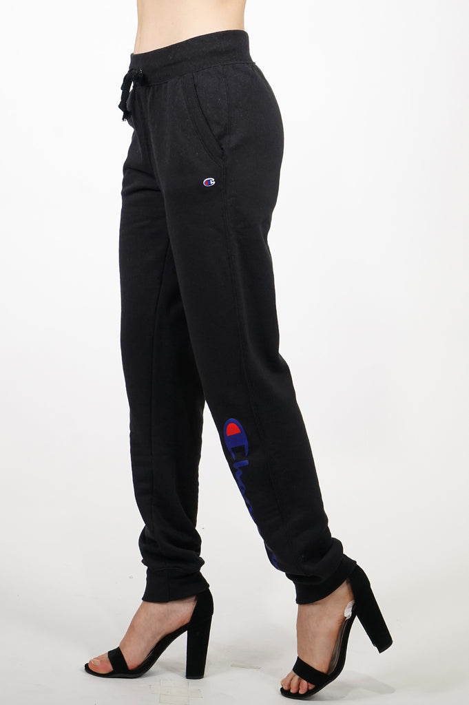 Champion Womens Powerblend Graphic Fleece Jogger