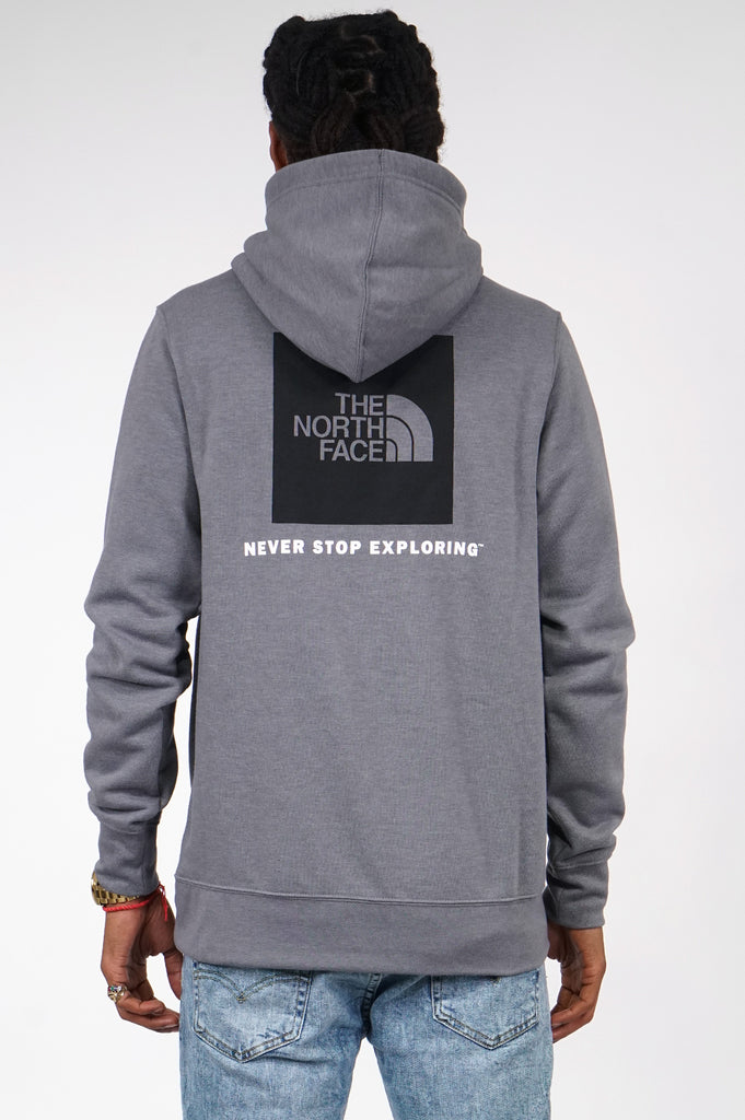 North Face Men Red Box Pullover Hoodie