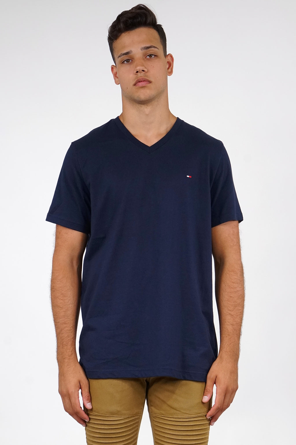 TOMMY HILFIGER LOUNGEWEAR MENS S/S CORE FLAG TEE