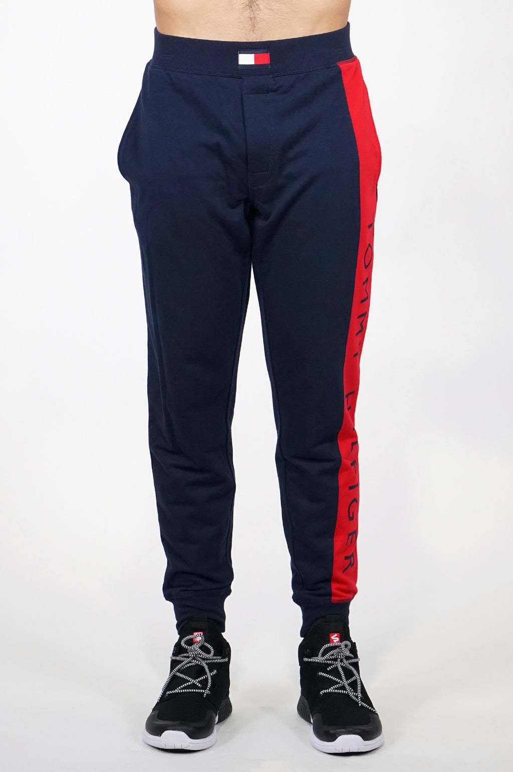 TOMMY HILFIGER LOUNGEWEAR MENS COLOR BLOCK PANTS