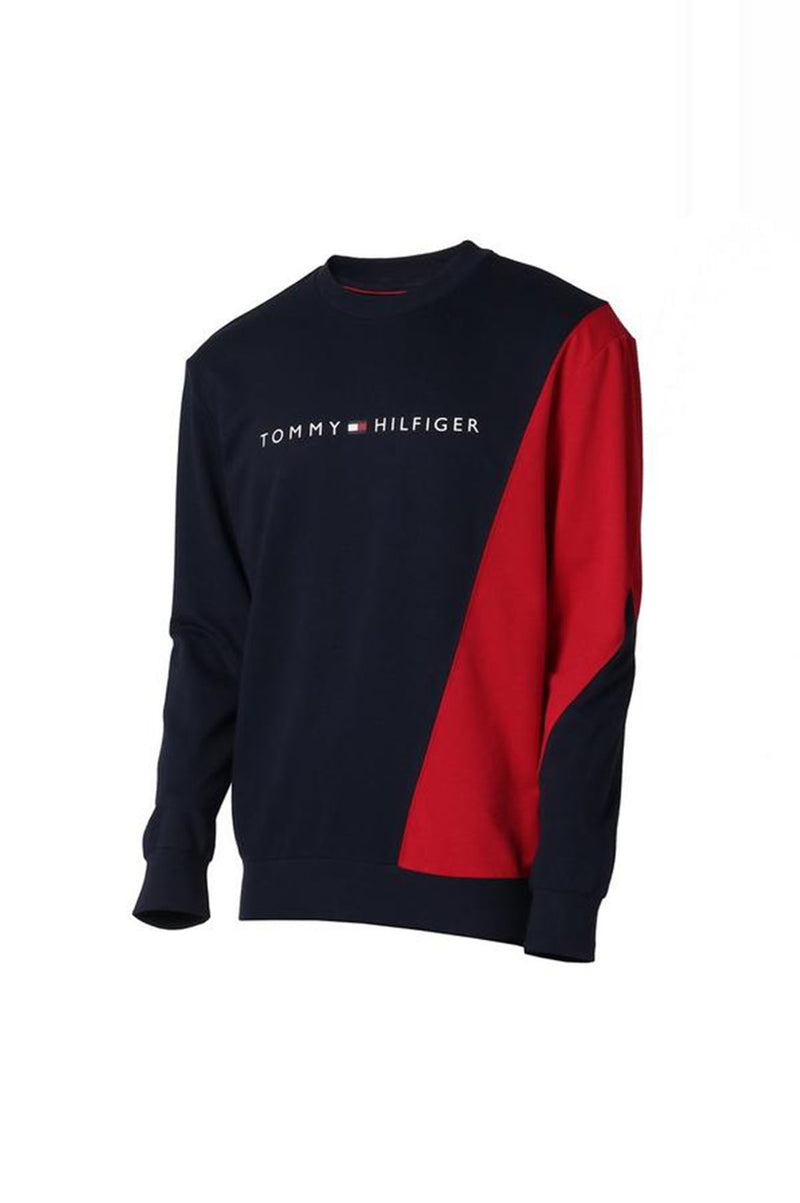 Tommy Hilfiger Loungewear Mens Colorblock Crew