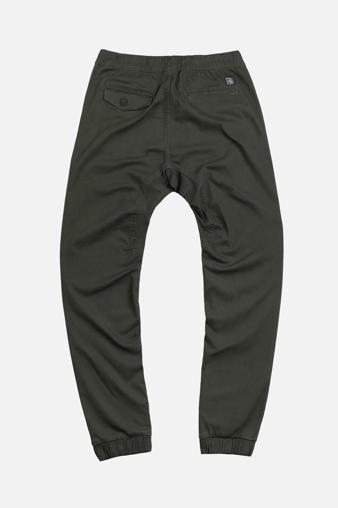 Southpole Mens Basic Stretch Twill Joggers