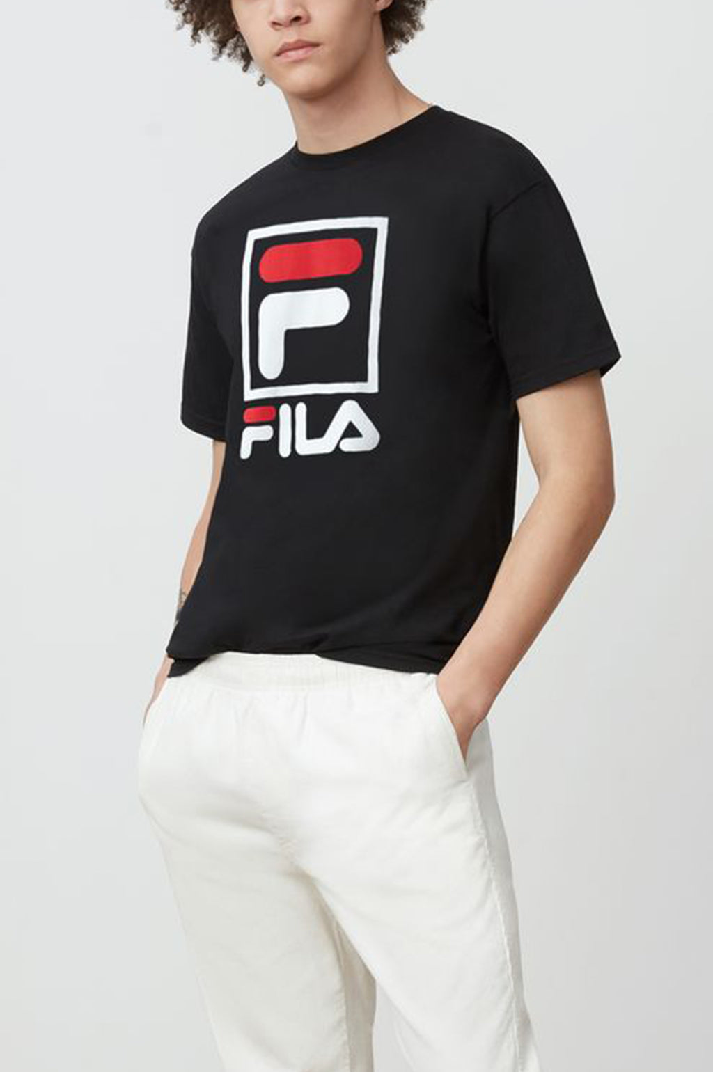 Fila Men Stacked S/S Tee