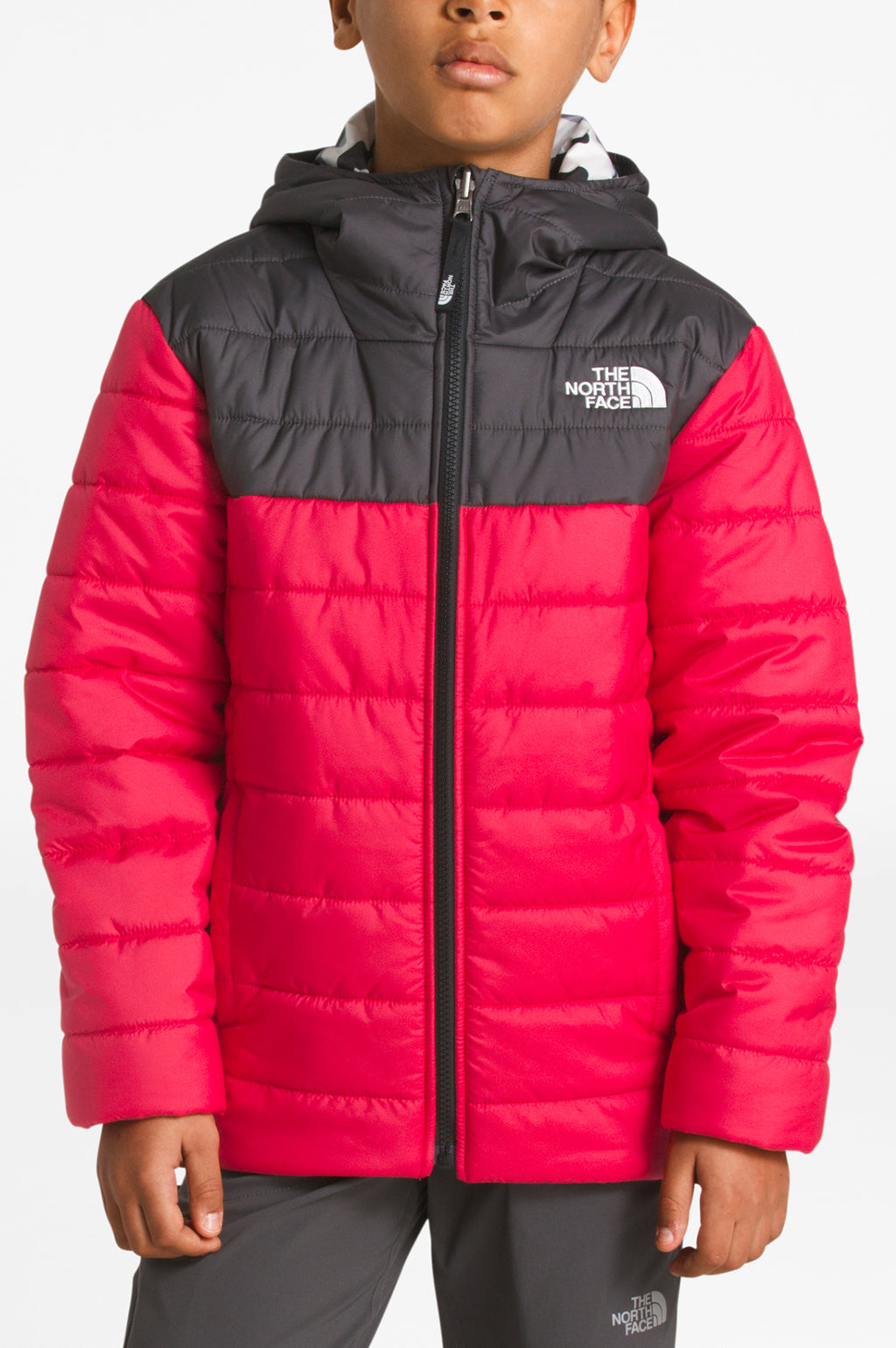 THE NORTH FACE YOUTH BOYS' REVERSIBLE PERRITO JACKET