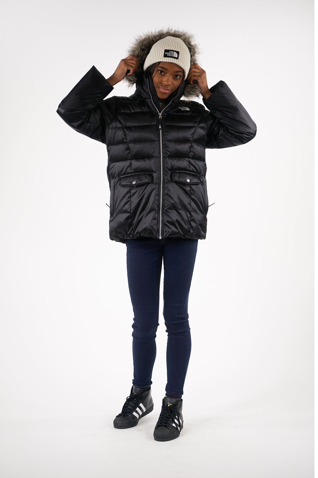 The North Face Youth Girls' Gotham Goose Down Jacket