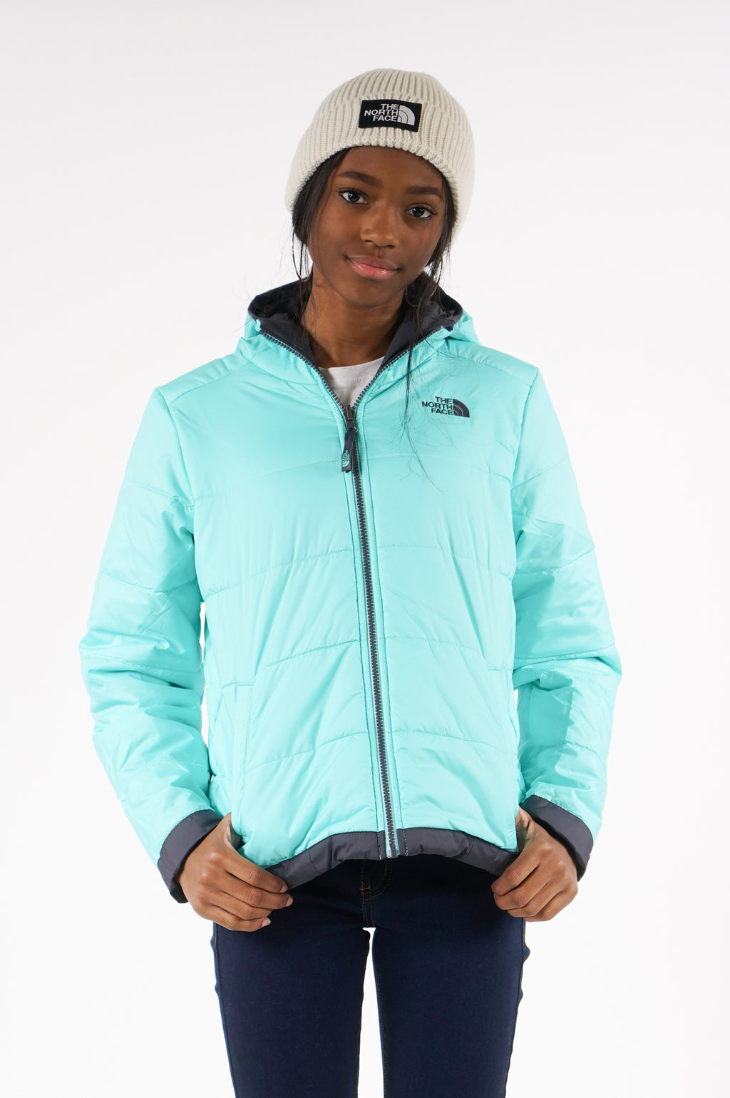 The North Face Youth Girls' Reversible Perrito Jacket