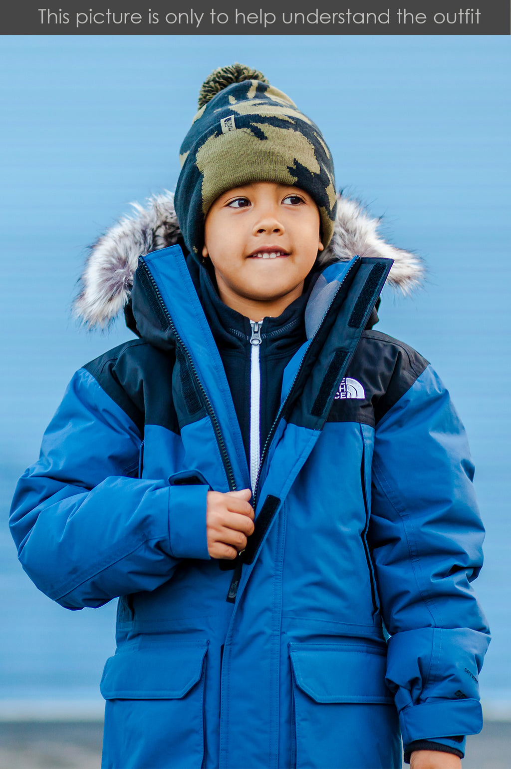 THE NORTH FACE YOUTH BOYS MCMURDO PARKA
