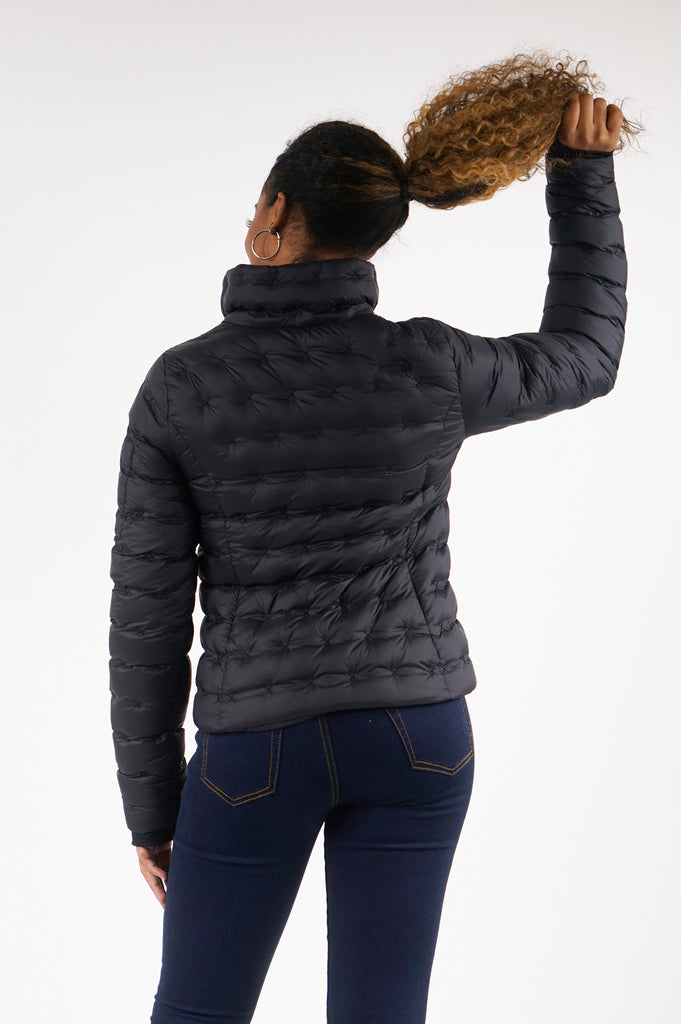 North Face Womens Holladown Crop Goose Down Jacket
