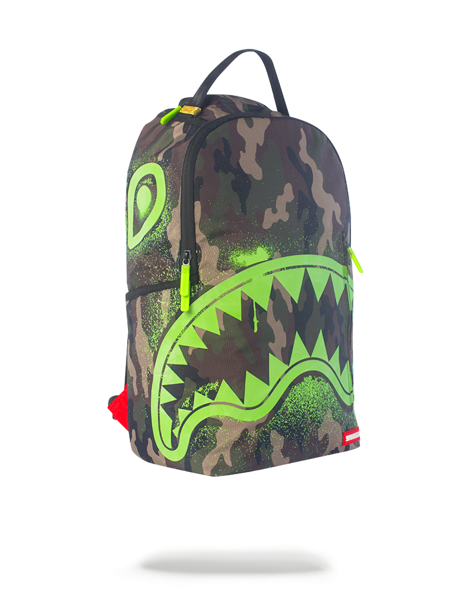 Sprayground Glow In The Shark Backpack