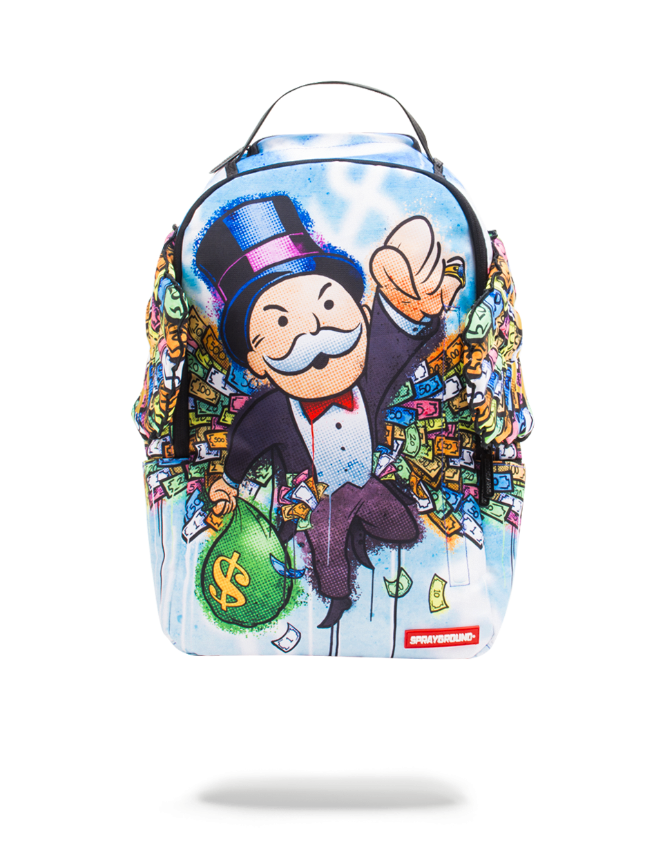 SPRAYGROUND MONOPOLY MONEY WING BACKPACK