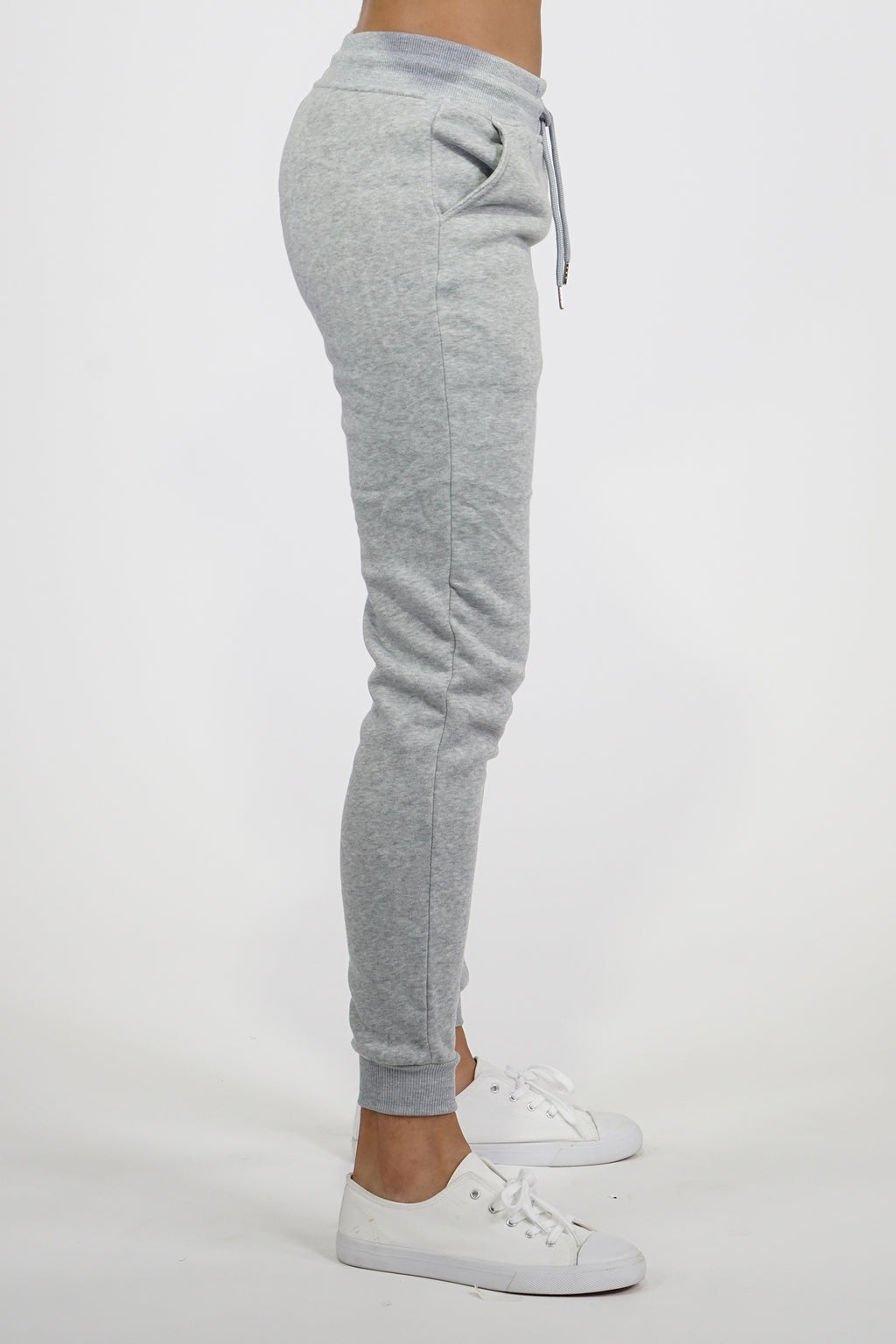 AAO FASHION WOMENS FLEECE BASIC JOGGER