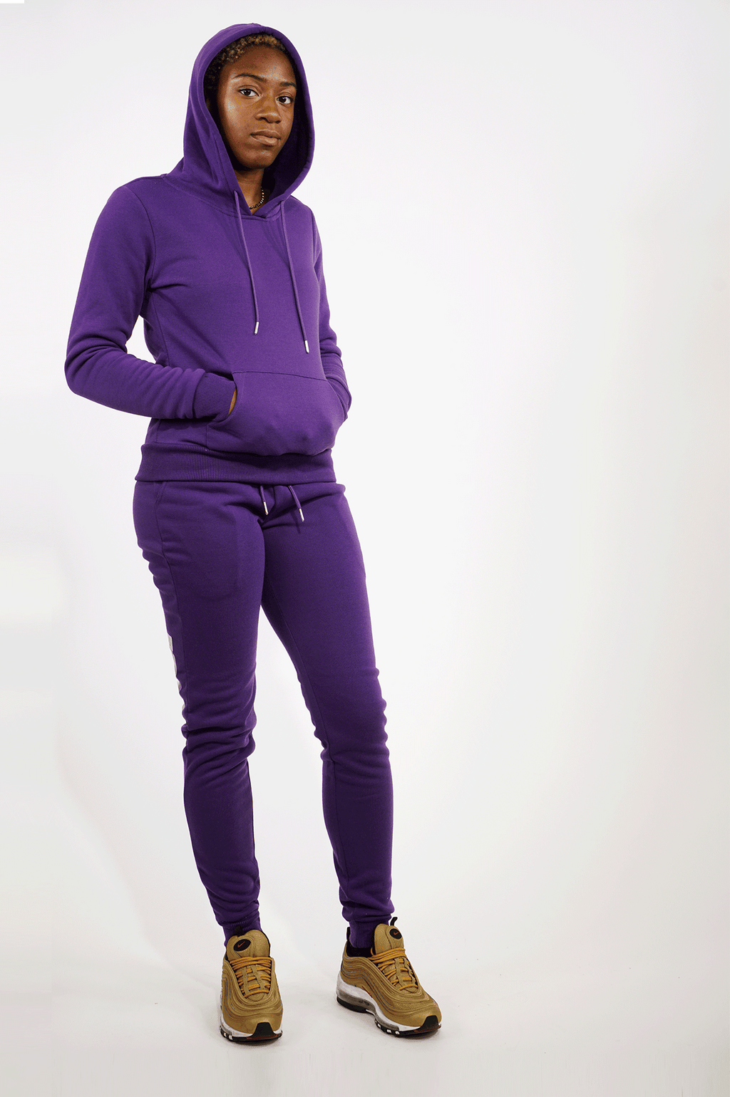 AAO FASHION WOMEN FLEECE BASIC JOGGER