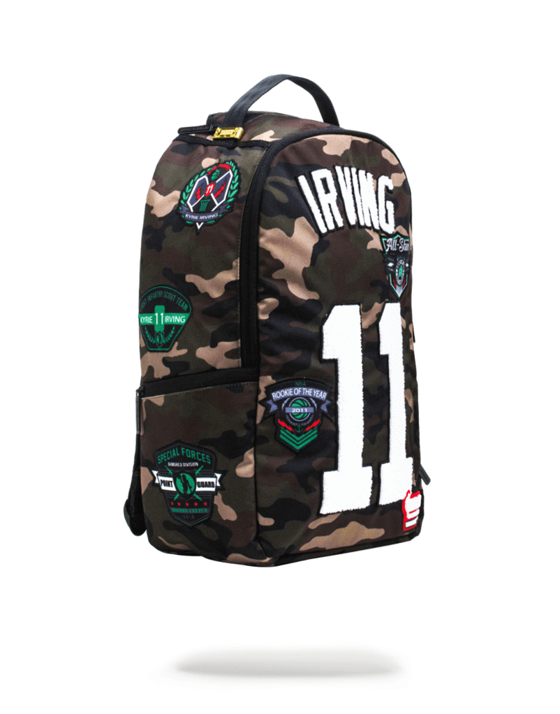 Sprayground Kyrie Irving Camo Backpack