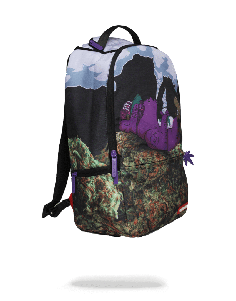 SPRAYGROUND PURPLE BEAR GANJA BACKPACK