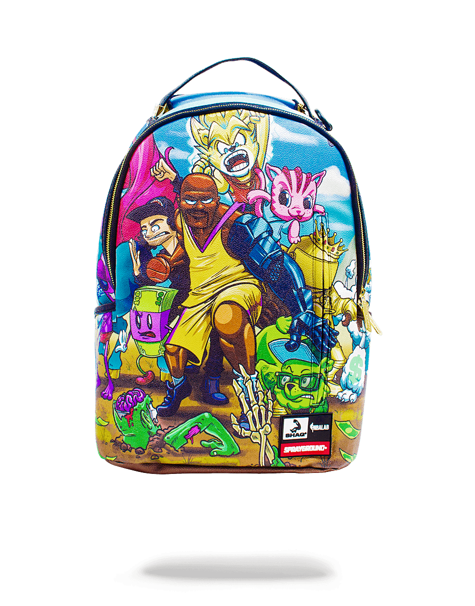SPRAYGROUND SHAQTIN A FOOL BACKPACK