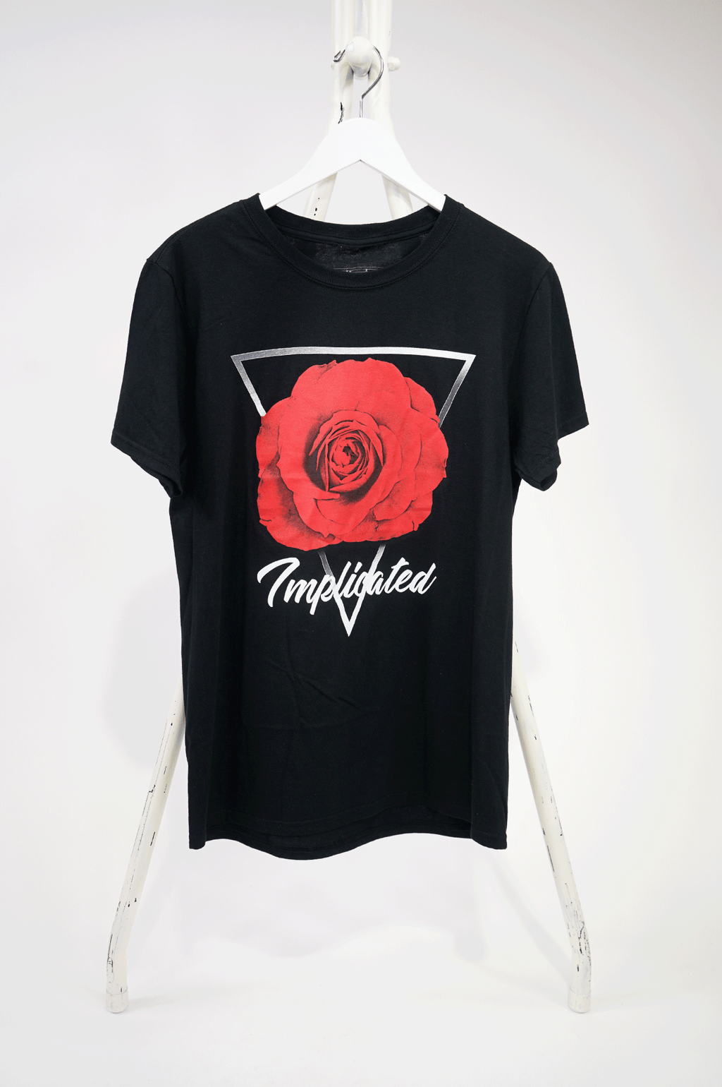 AAO FASHION MENS S/S ALL ROSES TEE