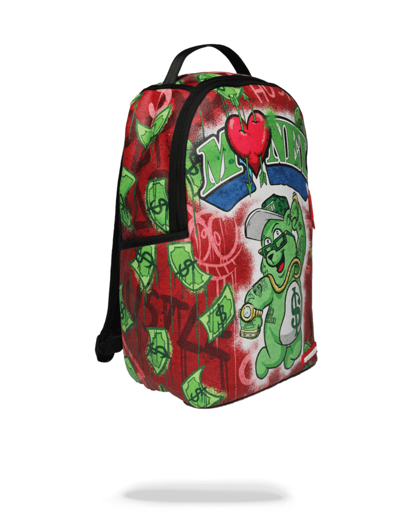 SPRAYGROUND MONEY BEAR RAINING BACKPACK